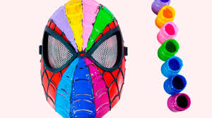 spiderman face painting finger family nursey rhymes body paint