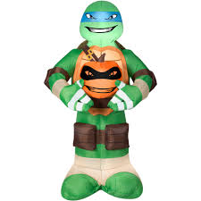 inflatable spider halloween gemmy airblown inflatable 5 u0027 x 3 u0027 teenage mutant ninja turtles