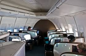 Interior Air File Air New Zealand Business Premier 747 Cabin Jpg Wikimedia
