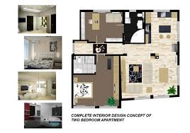 One Bedroom House Designs Affordable 2 Bedrooms Flat House Design