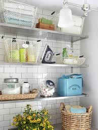 Laundry Room Decor And Accessories Laundry Room Shelves Keep Everything Organized And Within Reach