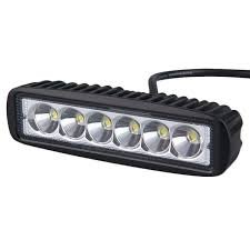6 inch light bar 6 inch 18watt led light bar complete with bracket fixings 10 30v