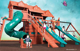 Backyard Adventure Playset by Play Sets By Backyard Adventures Professionally Installed By