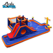 pirate blaster inflatable play park by blast zone
