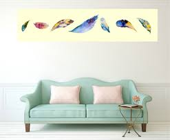 aliexpress com buy nordic art feather poster large canvas