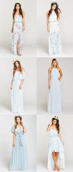 light bridesmaid dresses light blue mix and match bridesmaid dresses dress for the wedding