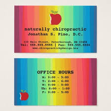 40 best chiropractic business card designs images on pinterest