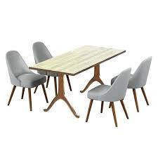 west elm round dining table boho modern solid acacia mid century dining table sunbeam vintage