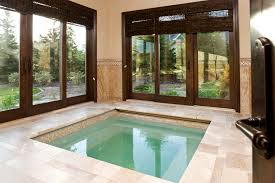 Interior Waterfall Design by Indoor Waterfall Design And Construction Pool Traditional With