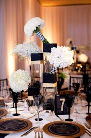 enchanting black and gold wedding reception decorations 73 for