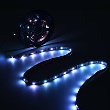 0 5 1 2 3 4 5m non waterproof usb rgb smd5050 led strip light tv