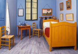 van gogh bedroom painting vincent van gogh s bedroom at arles painted furniture