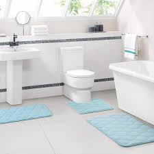 Mohawk Memory Foam Rug Pad Blue Memory Foam Bath Mat Dianoche Designs Dianoche Memory Foam