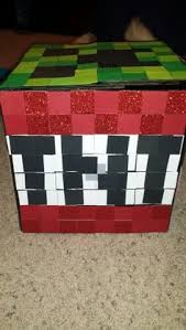 Valentines Day Decor Hobby Lobby by Minecraft Creeper Valentine Box Valentines Day Pinterest