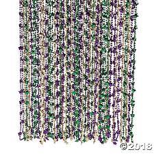 diy mardi gras bead bandana mardi gras