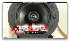 In Ceiling Speakers Reviews by Definitive Technology Di 6 5r Disappearing In Ceiling Speakers