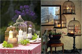 Bird Cage Decoration Decorative Bird Cages Wholesale Wedding Compact Decorated Bird
