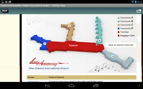New Orleans Airport Map by New Orleans Airport Radar Msy Android Apps On Google Play