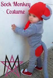 sock monkey costume house of estrela sock monkey costume tutorial the refashioned way