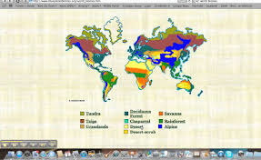 World Map Biomes by World Biomes Youtube