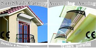 Polycarbonate Porch by Steady Clear Light Weight Polycarbonate Sheet Porch Awning China