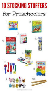 christmas stuffers stuffers for toddlers and preschoolers