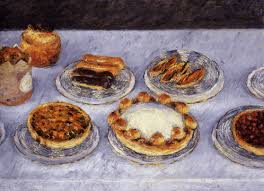 gustave cuisine gustave caillebotte 1848 1894 gateaux 1881 still