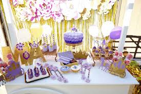 Sofia The First Birthday Decorations Kara U0027s Party Ideas Sofia The First Birthday Party