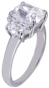 scott kay engagement rings gia i si1 18k white gold cushion cut diamond engagement ring 2 80ct