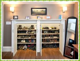 closed shoe rack home decorations ideas