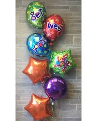 get well soon balloons same day delivery get well flowers chalifour s flowers