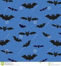 seamless pattern background with bats unusual halloween vector