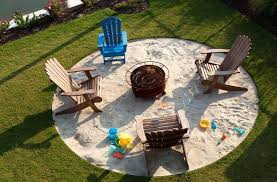 fire pit sand fire pits ideas landscape contemporary with sand resistant