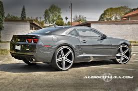 chevy camaro 24 inch rims 24 iroc wheels black machined 5 lugs rims irc003 4