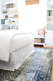 White Bedroom Rugs Cottage And Vine A New Bedroom Rug