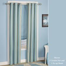 grommet curtains and tab top panels touch of class clearwater grommet curtain pair multi cool 84 x 84