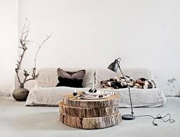 tree trunk coffee table stacked improvised life branded sale wood greece sold idea tree