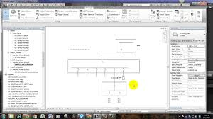 revit line types and single line diagrams youtube