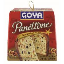 donofrio panettone goya panettone candied fruits raisins bread 32 oz walmart