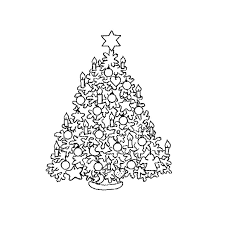 17 dessins de coloriage sapin de noel à imprimer