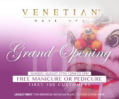 a beautiful spa setting venetian nail spa experience the