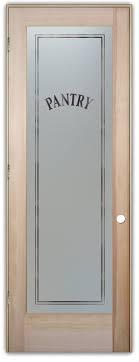 Fir Doors Interior Pantry Door Sans Soucie Etched Glass Interior Door