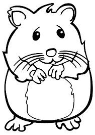 print coloring image coloring hamsters and coloring pages
