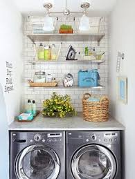 Small Laundry Room Decorating Ideas 10 Awesome Ideas For Tiny Laundry Spaces Laundry Room