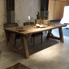 rustic solid wood dining table edge rustic kitchen table with bench solid wood dining nurani org