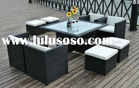 great outdoor dining sets outdoorlivingdecor in outdoor wicker