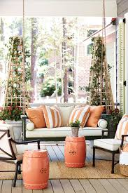 Wraparound Porch Porch Of The 2016 Southern Living Idea House How To Decorate