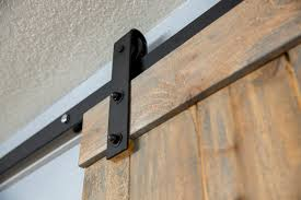 How To Hang A Barn Door by How To Hang A Barn Door Home Improvement Projects To Inspire And