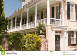 house porch southern house with porch stock image image of architectural