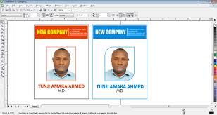 banner design in coreldraw x7 how to design id card in coreldraw free tutorials for beginners